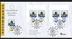 CE54-PJa : 18.10.2003 1er Jour des TP du Conseil de l'Europe RECO