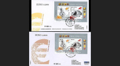 PE551 - 2008 : 2 FDC Chypre et Malte - 1er timbre en Euros