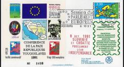 PE238 - 1991 - Slovénie et Croatie proclament leur indépendance