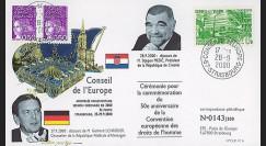 CE51-IVA - 2000 - Visites officielles du Président de Croatie et du Chancelier allemand