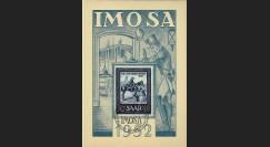 JT52ST1 : 1952 - Carte maximum IMOSA Journée du Timbre