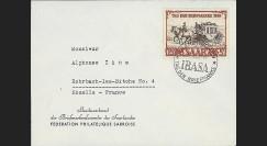 JT50ST2 : 1950 - Enveloppe entête Journée du Timbre