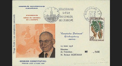 OH2a : 1958 - Assemblée parlementaire eur. - Session Constitutive 20F Europa