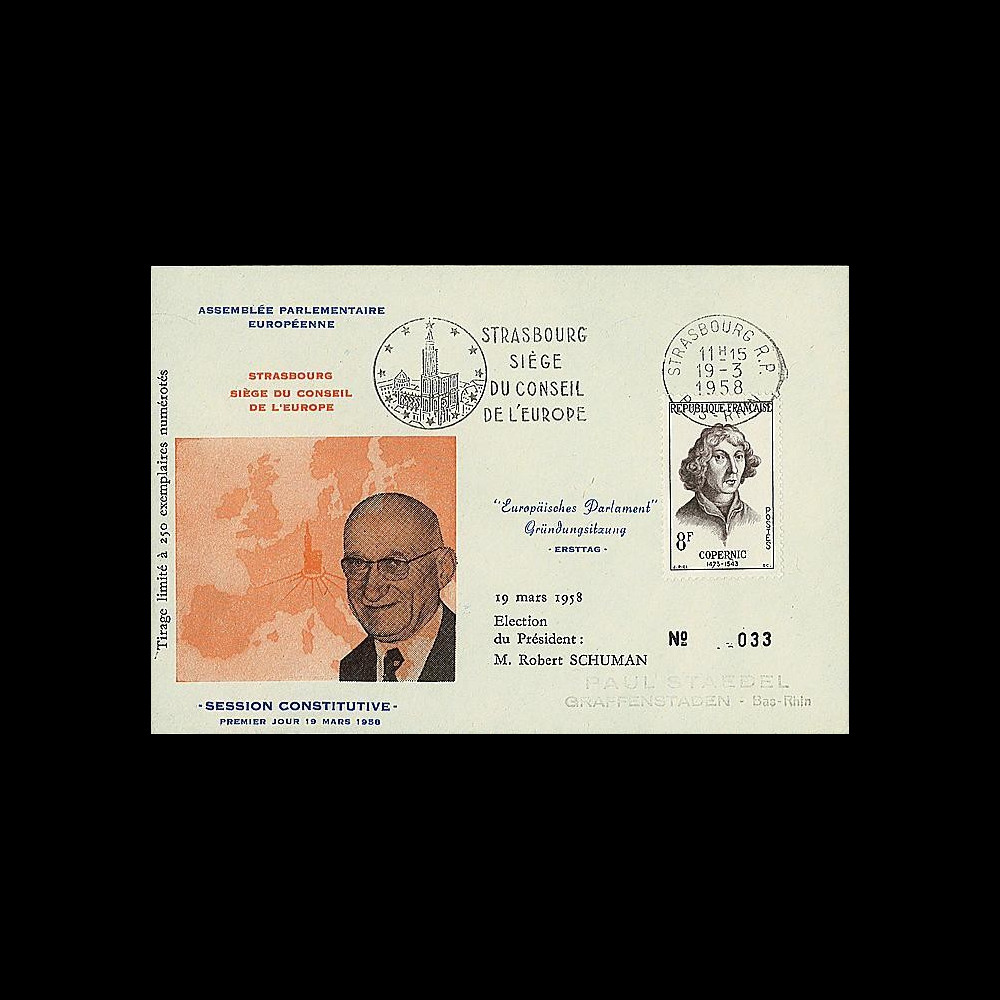 OH2aI-T1 : 1958 - Assemblée parlementaire eur. - Session Constitutive 8F Cpernic