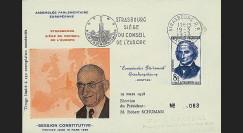 OH2aI-T2 : 1958 - Assemblée parlementaire eur. - Session Constitutive 8F Lagrange