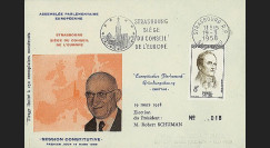 OH2aI-T3 : 1958 - Assemblée parlementaire eur. - Session Constitutive 8F Pinel flamme