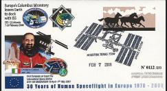 PE556 - 2008 : FDC STS-122 Atlantis - laboratoire spatial européen Columbus