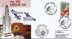 V178L-T2 - France 2007 : FDC Kourou Vol 178 Ariane 526