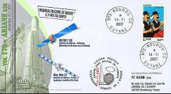 V179L-T1 - France 2007 : FDC Kourou Vol 179 Ariane 538