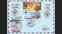 A380-54 : 2007 - Maxi FDC France '1er vol Paris - Montreal'