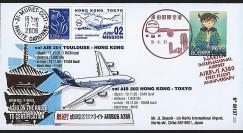 A380-30T4 : 2006 - Pli 'A380 Mission 02 : Toulouse - Hong Kong - Tokyo'