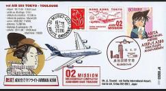 A380-31T1 : 2006 - Pli spécial 'A380 Mission 02 : Tokyo - Toulouse'