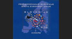 PE550N : 2008 - Bloc Slovénie 'Présidence du Conseil de l'UE'