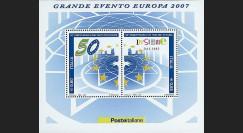 PE530N-IT : 2007 - Bloc Italie '50ème anniversaire Traité de Rome'