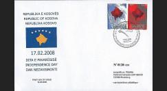 PE557 : 2008 - FDC Kosovo 'Proclamation d'Indépendance'