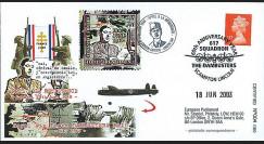 DG03-AP : 2003 - Pli 'Appel du 18 juin 40 et Dambusters Raid 43'