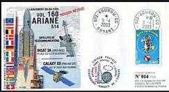 V160L type 1 : 2003 - Ariane Vol 160 satellites INSAT 3A et GALAXY XII
