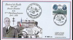 """DG08-1T3 : 2008 - FDC """"DE GAULLE - 68 ans Appel 18 Juin"""" (Colombey-les-Deux-Eglises)"""