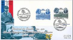 """DG08-1G : 2008 - FDC """"1er Jour - Mémorial DE GAULLE"""" (Colombey-les-Deux-Eglises)"""