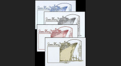 QM2-1B : 2003 - Blocs porte-timbre 'Queen Mary 2'