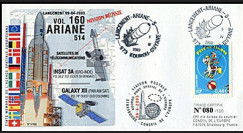 V160L type 2 : 2003 - Ariane Vol 160 satellites INSAT 3A et GALAXY XII
