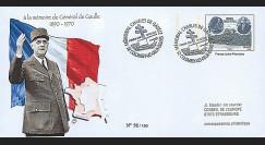 """DG08-2T1 : 2008 - Entier Postal """"1er Jour - Mémorial DE GAULLE"""" (Colombey)"""