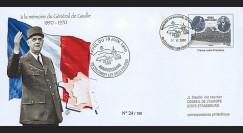 """DG08-2T3 : 2008 - Entier Postal """"Mémorial DE GAULLE - 68 ans Appel du 18 Juin"""""""