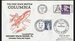 STS-1 1981 - 1er lancement de la navette spatiale américaine Columbia
