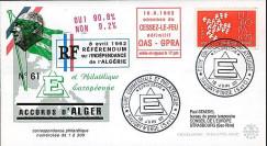 ALG5A : 1962 - Accords d'Alger - cessez-le-feu entre OAS et GPRA