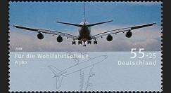 A380-64N : 2008 - Timbre-poste de bienfaisance à surtaxe 'A380' (All)