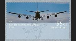 A380-64NA : 2008 - TP de bienfaisance à surtaxe 'A380' adhésif (All)