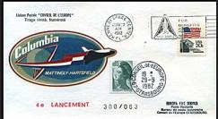 STS-4 1982 - 4e lancement de la navette spatiale américaine Columbia