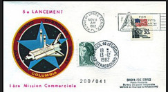 STS-5 1982 - 5e lancement de Columbia