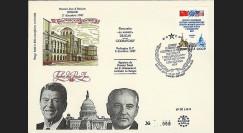 PE148B : 1987 - pli URSS 'Reagan-Gorbatchev : Traité euromissiles'