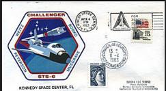 STS-6 1983 - 1er lancement de la navette spatiale américaine Challenger