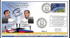 CE59-IV : 2008 - FDC 'Conséquences des conflits russo-géorgiens'