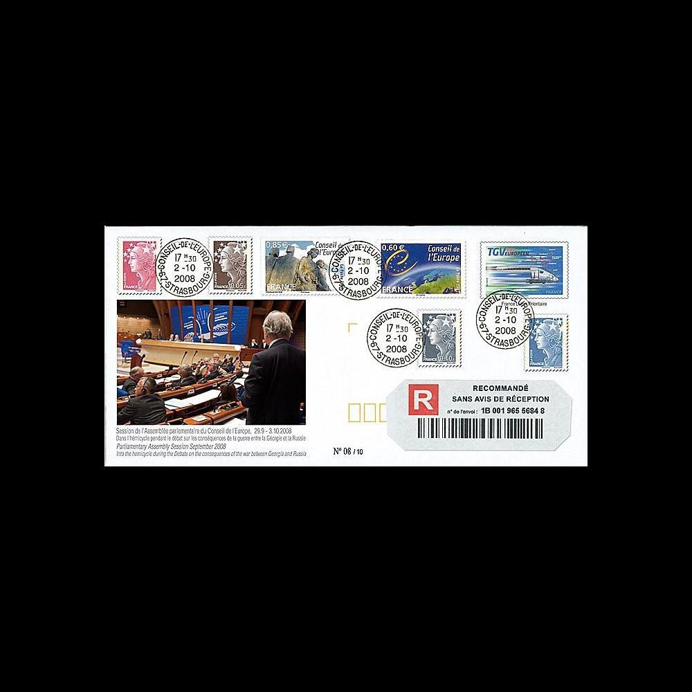CE59-IVa : 2008 - Reco 'Conséquences des conflits russo-géorgiens'