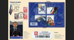 PE562a : 2008 - Recommandée Présidence française de l'UE + M. Sarkozy