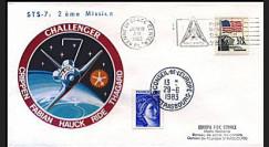 STS-7 1983 - 2e lancement de Challenger et 1ère femme astronaute