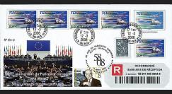 PE558a : 2008 - Recommandée '50 ans du Parlement européen'