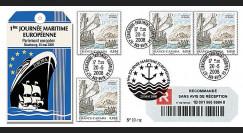 PE560a : 2008 - Recommandée '1ère Journée maritime européenne'