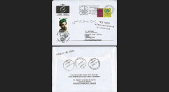 PE472A T1 : 2001 - Pli 'transit Abu Dhabi - arrivée et réexpédition Kaboul'