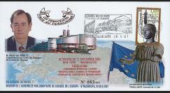 CE52-IV : 2001 - FDC 'Résolution sur l'action internationale contre le terrorisme'