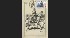 W1 08-2CP : 2008 - Carte maxi 'Armistice - Général Gouraud'