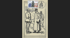 W1 08-7CP : 2008 - Carte 1er Jour 'Armistice - Général Maunoury'