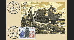 W1 08-9CP : 2008 - Carte maxi 'Armistice - Char Schneider' - Dunkerque
