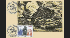W1 08-11CP : 2008 - Carte maxi 'Armistice - Char Renault' - Talmont St Hilaire