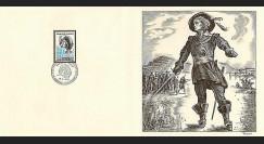 83DECA-01 : 1972 - Gravure Decaris 'Paul de Chomedey 1612-1676'
