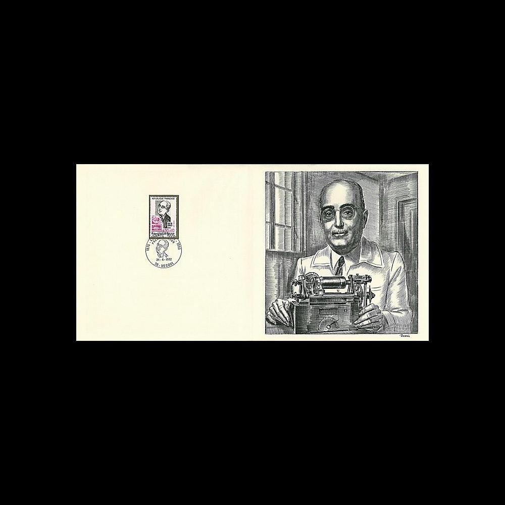 83DECA-03 : 1972 - Gravure Decaris 'Edouard Belin 1876-1963'