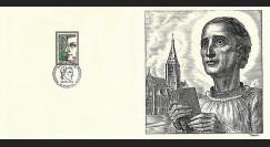 83DECA-15 : 1974 - Gravure Decaris 'St Louis Marie Grinion de Montfort 1673-1716'